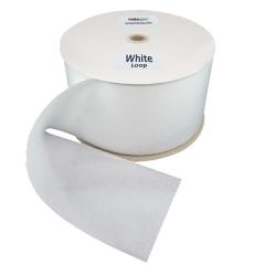 """6"""" - DuraGrip brand Sew-On Loop - White DG60WHLS"""