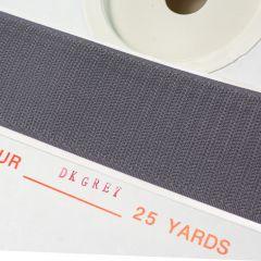"1"" - DuraGrip brand Peel & Stick Hook: Rubber - Dark Gray DG10DGHR"