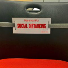 Social Distancing Strap-Foliage Green