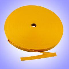 "2"" - DuraGrip brand Heavyweight Polypropylene Webbing - Gold DG20GOWEBB-HW"