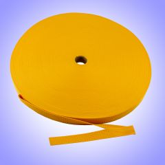 "1"" - DuraGrip brand Heavyweight Polypropylene Webbing - Gold DG10GOWEBB-HW"