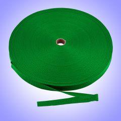 "1""  - DuraGrip brand Lightweight Polypropylene Webbing - Green DG10GRWEBB-LW"