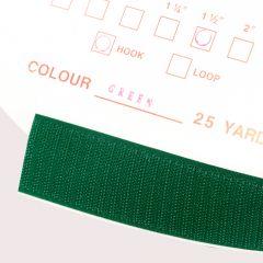 """1.5"""" - DuraGrip brand Peel & Stick Hook: Rubber - Green DG15GRHR"""