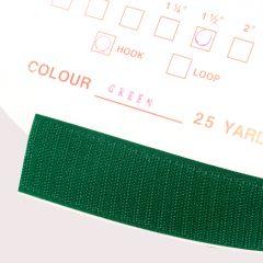 """1"""" - DuraGrip brand Peel & Stick Hook: Rubber - Green DG10GRHR"""