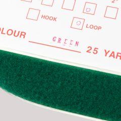 "1"" - DuraGrip brand Peel & Stick Loop: Rubber - Green DG10GRLR"