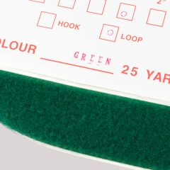 "2"" - DuraGrip brand Peel & Stick Loop: Rubber - Green DG20GRLR"