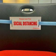 Social Distancing Strap-Light Blue