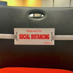 Social Distancing Strap-Light Gray
