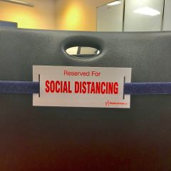 Social Distancing Strap-Navy Blue