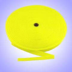 "1.5""  - DuraGrip brand Lightweight Polypropylene Webbing - Neon Yellow DG15NYWEB-LW"