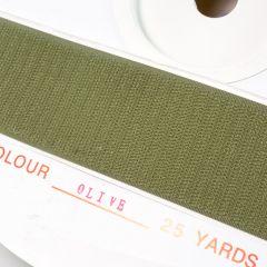 "2"" - DuraGrip brand Peel & Stick Hook: Rubber - Olive Drab DG20ODHR"