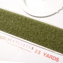 "2"" - DuraGrip brand Peel & Stick Loop: Rubber - Olive Drab DG20ODLR"