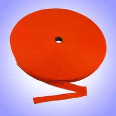"1""  - DuraGrip brand Lightweight Polypropylene Webbing - Orange DG10ORWEBB-LW"