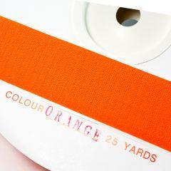 "1"" - DuraGrip brand Peel & Stick Hook: Rubber - Orange DG10ORHRUBBER"