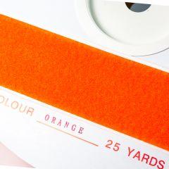 "2"" - DuraGrip brand Peel & Stick Loop: Rubber - Orange DG20ORLR"