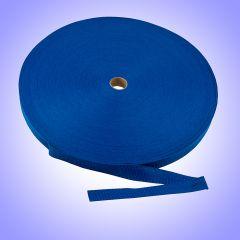 "1""  - DuraGrip brand Lightweight Polypropylene Webbing - Pacific Blue DG10PBWEBB-LW"