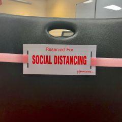 Social Distancing Strap-Pink