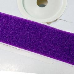 """2"""" - DuraGrip brand Peel & Stick Loop: Rubber - Purple DG20PULR"""