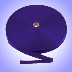 "1.5"" - DuraGrip brand Heavyweight Polypropylene Webbing - Purple DG15PUWEBB-HW"