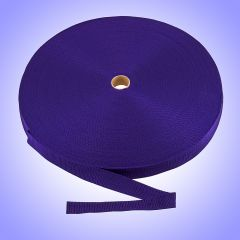 "1""  - DuraGrip brand Lightweight Polypropylene Webbing - Purple DG10PUWEBB-LW"