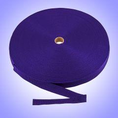 "1.5""  - DuraGrip brand Lightweight Polypropylene Webbing - Purple DG15PUWEBB-LW"