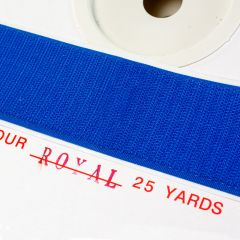 "2"" - DuraGrip brand Peel & Stick Hook: Rubber - Royal Blue DG20RBHR"