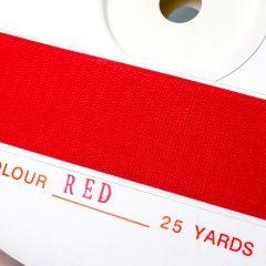"1"" - DuraGrip brand Peel & Stick Hook: Rubber - Red DG10RDHR"