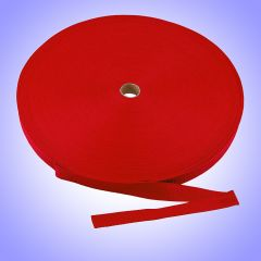 "1""  - DuraGrip brand Lightweight Polypropylene Webbing - Red DG10REDWEBB"