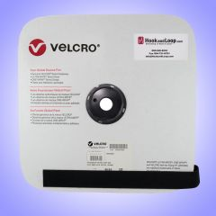 "1"" - Velcro® brand Sew-On Loop 3610 - Black 181710"