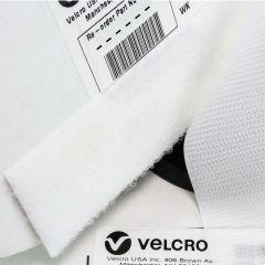 "1.5"" - VELCRO® Brand Loop 3610 Knit Nylon Sew-On - White"