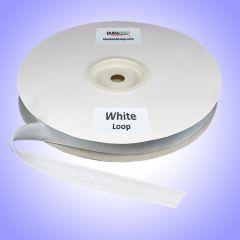 "1/2"" - DuraGrip brand Peel & Stick Loop: Rubber - White DG12WHLR"