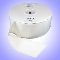 "4"" - DuraGrip brand Peel & Stick Loop: Rubber - White DG40WHLR"