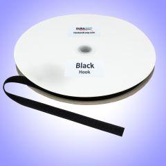 "5/8"" - DuraGrip brand Sew-On Polyester Hook - Black DG58BLHPOLY"