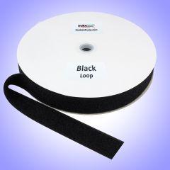 """1.5"""" - DuraGrip® Brand Sew-On Polyester Loop - Black"""