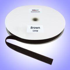 """1"""" - DuraGrip Brand Sew-On Loop - Brown DG10BRLS"""
