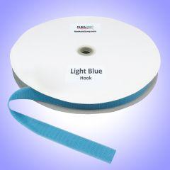 "1"" - DuraGrip Brand Sew-On Hook - Light Blue DG10LBHS"
