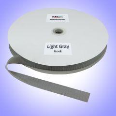 "1"" - DuraGrip Brand Sew-On Hook - Light Gray DG10LGHS"