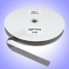 "1"" - DuraGrip Brand Sew-On Loop - Light Gray DG10LGLS"