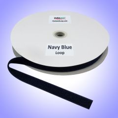 """1"""" - DuraGrip Brand Sew-On Loop - Navy Blue DG10NBLS"""