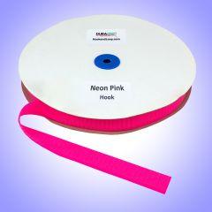 "1"" - DuraGrip Brand Sew-On Hook - Neon Pink DG10NPHS"