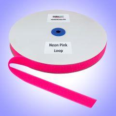 """1"""" - DuraGrip Brand Sew-On Loop - Neon Pink DG10NPLS"""