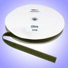 """1"""" - DuraGrip Brand Sew-On Loop - Olive Drab DG10ODLS"""