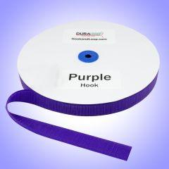 """1"""" - DuraGrip Brand Sew-On Hook - Purple DG10PURHS"""