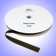"1"" - DuraGrip brand Sew-On Loop - Ranger Green DG10RGLS"