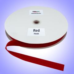 "1"" DuraGrip brand Sew-On Hook - Red DG10RDHS"
