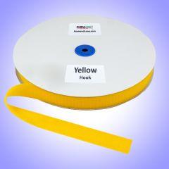 "1"" - DuraGrip brand Sew-On Hook - Yellow DG10YWHS"