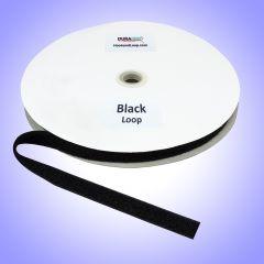 "3/4"" - DuraGrip brand Sew-On Polyester Loop - Black DG34BLLPOLY"