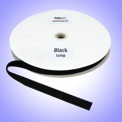 "3/4"" - DuraGrip brand Fire Retardant Loop - Black DG34BLLFRS"