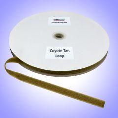 """3/4"""" - DuraGrip Brand Sew-On Loop - Coyote Tan DG34CTLS"""