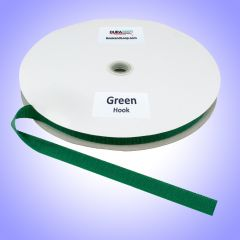"1"" - DuraGrip Brand Sew-On Hook - Kelly Green DG10GRHS"
